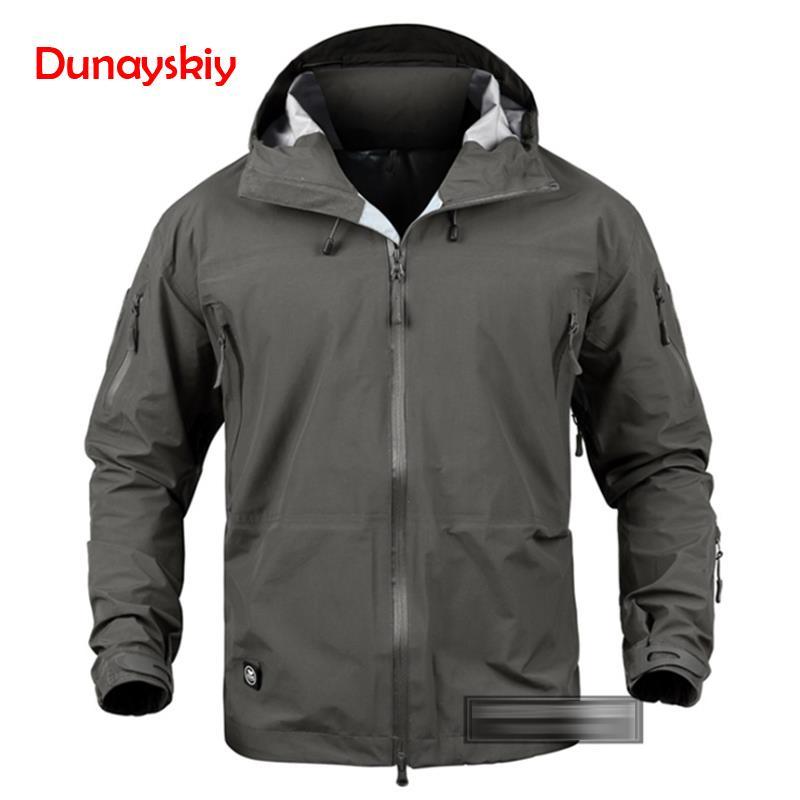 Armée Camouflage hommes veste manteau militaire tactique veste hiver imperméable doux Shell vestes coupe-vent chasse vêtements