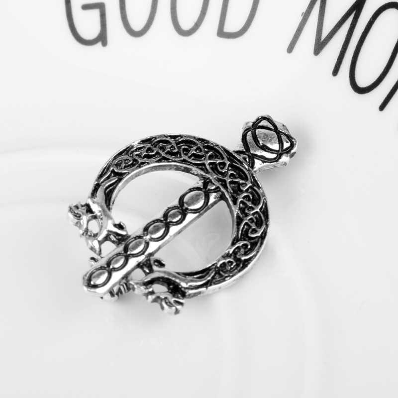 MQCHUN Terbaru Hot Sale Outlander Aksesoris wanita Pria Kemeja Bros Perempuan Bros Pin Antik Bros Jewelery-40