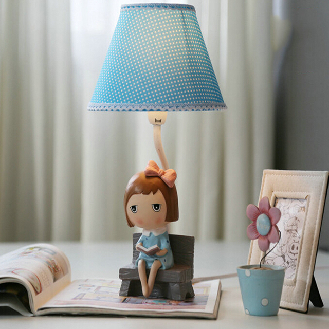 High quality decorative girl romantic table lamp e14 110v 220v high quality decorative girl romantic table lamp e14 110v 220v children room switch button table aloadofball Choice Image