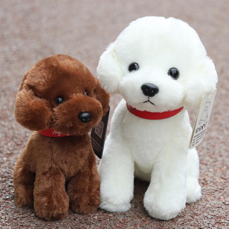 Dog Mannequins Pet Toy Dog Plush Toy Gift Teddy Dog Doll Simulation  Bite New Puppy Dog