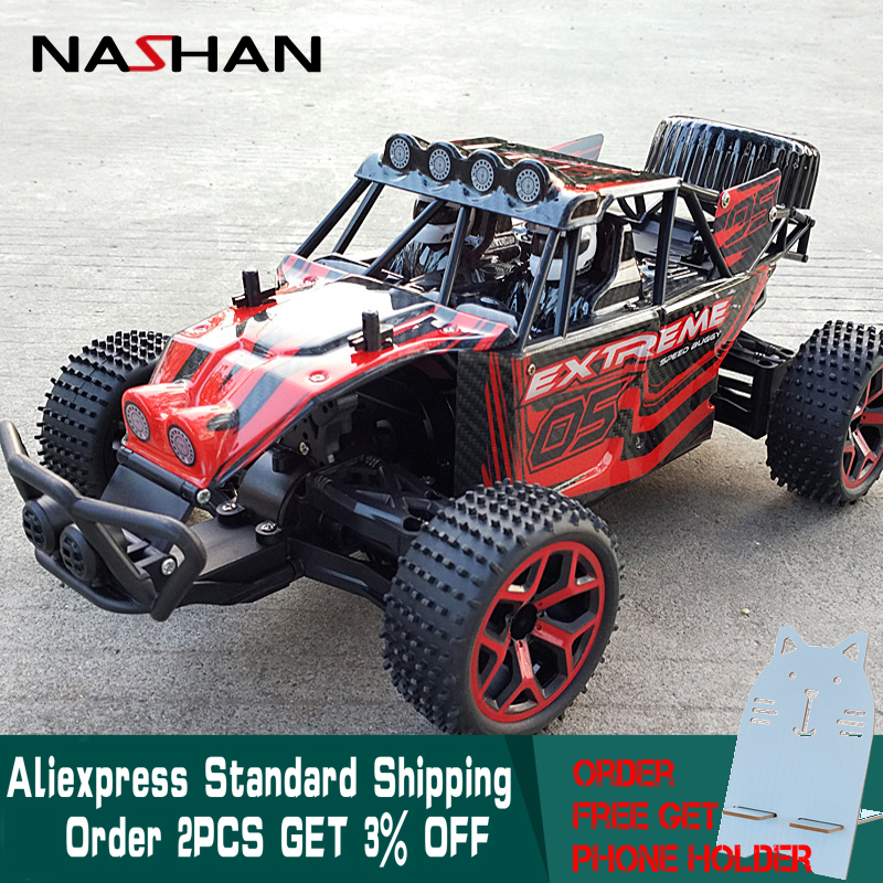 цена на High Speed RC Car 1:18 4WD Drift Remote Control Cars Racing Car Model Toys Speed Buggy Big Foot Off-Road Vehicle Toy Kid Gifts
