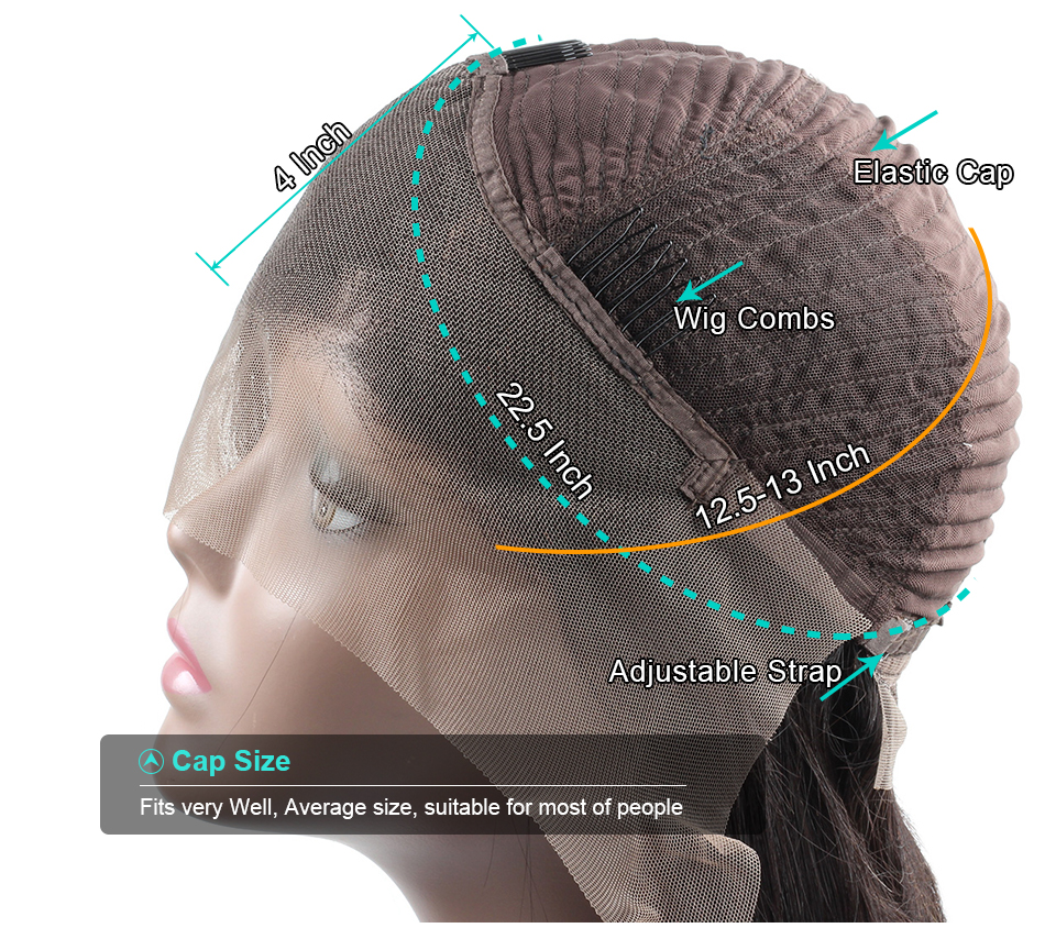 Curly Human Hair Lace Front Wigs (12)