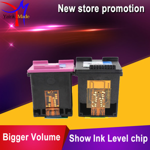 Image 4 - BK+Tri colors Remanufactured for HP 63 ink cartridge compatible for HP 3830 4650 1112 2130 2132 3630/3632 printers