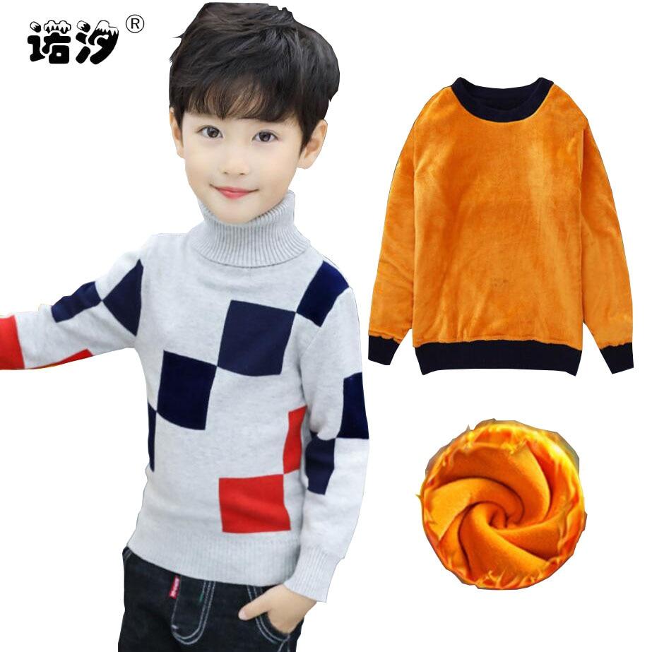 66a3ea7bc Autumn Winter Boys Clothing Teen Boys Sweater Kids Fashion ...