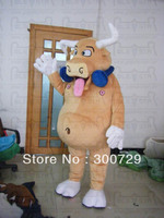 bull mascot costumes headphone bull onesies for adults popular muscle carttle costumes