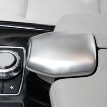 Консоли центральный подлокотник коробка переключения отделкой Стильный чехол для автомобиля подходит для Mercedes Benz E Class CLS E200L 260L W212 2010-15
