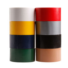 YIKAA 10Mx50mm Waterproof Sticky Adhesive Cloth Duct Tape Roll Craft Repair Red/Black/Blue/Brown/Green/Silvery Gray/White/Yellow(China)