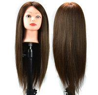 Top quality mixed hair Practice Hairdressing Training Head Mannequin training head