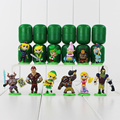 12pcs/lot The Legend of Zelda Furuta Choco Egg PVC figures Collection Toys Model Dolls Kids Gifts 3.5-5.6cm
