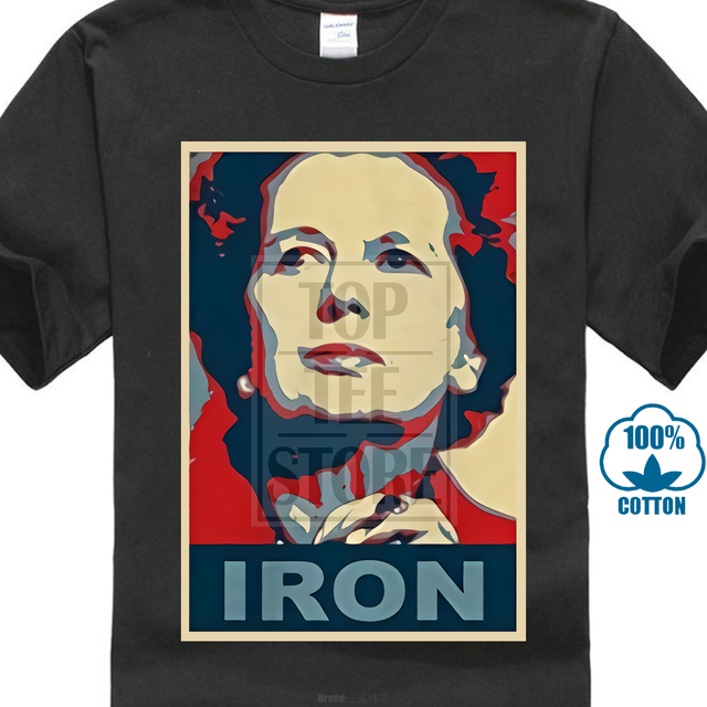 7e6d3048 Cafepress Margaret Thatcher T-shirt - 100% Cotton T-shirt 2018 Hot Shirt  Print Great Discount New Arrival Funny High Quality