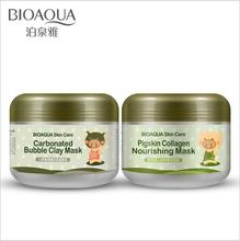 купить 100G Skin Care Carbonated Bubble Clay Mask For Face Nutrition Repair Face Cream Whitening Hydrating Moisturizing Facial Masks онлайн