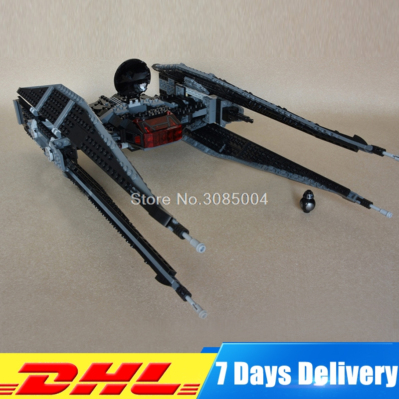 Lepin 05127 The Tie Model Fighter 705Pcs Star Plan Series War Building Blocks Bricks Educational Christmas Gifts 75179 2015 high quality spaceship building blocks compatible with lego star war ship fighter scale model bricks toys christmas gift