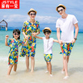 Family Matching Clothes Daughter Matching Clothes Sale Children Summer Bohemia Beach Skirt Dress Sleeve T-shirt And Her Home 176