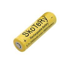 10PC/lot  3.7V 10800mAh 18650 Li-ion Rechargeable Battery for Flashlight Hot New 3.7v battery batteries