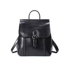 LIHONGBAOBAO марка высокое качество кожи коровы женщины рюкзак старинные рюкзак для девочек-подростков сумка школьная сумка