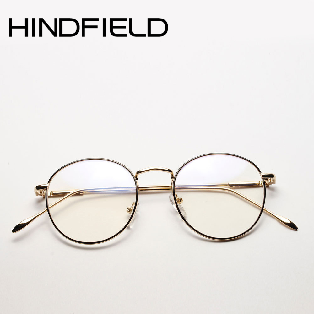 2017 Newest High Quality Metal Optical Frame Men Round Eye Gl 23a7264d7c
