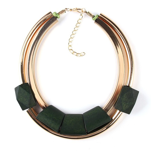 Pico-Wood-Statement-Collar-Choker-Necklace