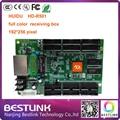 Привело платы управления hd-r501 HUIDU led rgb видео контроллер карты 192*256 пикселей с 2 шт. 50pin Для наружных светодиодных видеостен экран
