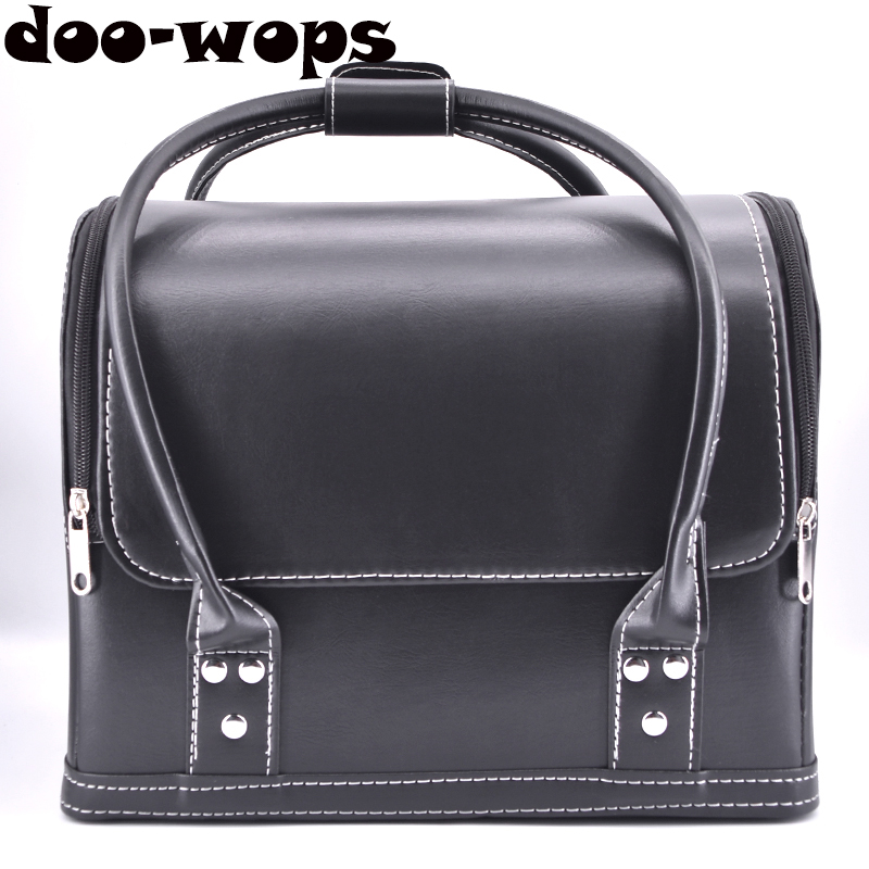 Close-Up Leather Bag - Glaze Magic Tricks Magicians Carrying Bag Stage Street Accessories Illusions Props Gimmick Mentalism