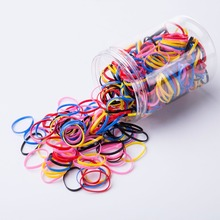 Резиновый держатель для ремня для волос из силиконового хвостика Elastic TPU Hair Holder Tie Gum Rings Аксессуары для волос для девочек