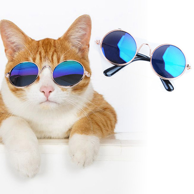 1pc Lovely Pet Cat Glasses Dog Glasses Pet Products For Little Dog Cat Eye-wear Dog Sunglasses  Pet Accessoires