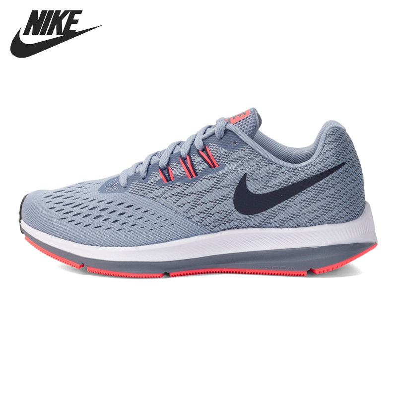 Original New Arrival 2017 NIKE ZOOM WINFLO 4 Women's Running Shoes Sneakers new arrival original nike breathable zoom winflo 3 men s running shoes sneakers trainers