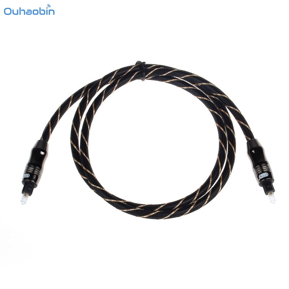 Ouhaobin Delicate 1M Toslink Digital Optical Fiber Audio Cable 3FT OD 6.0 For DVD CD Mini Disc DAT Other Digital Audio Nov1 ...