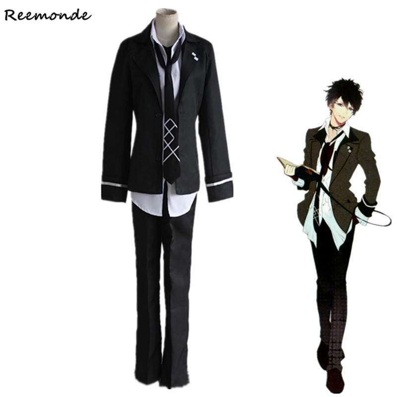 Diabplik Lovers Mukami Ruki Cosplay Costumes Coat Jackets Pants Full Set For Adult Men Boys School