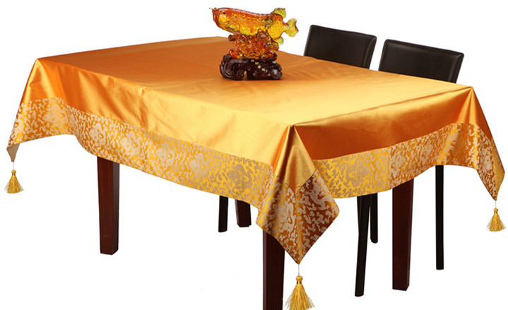 Običan patchwork tapiserija kineski ukrasni stolnjak pravokutni - Tekstil za kućanstvo - Foto 2