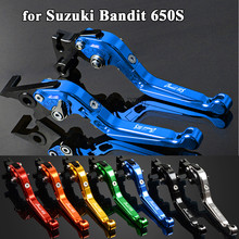 Foldable CNC Aluminum Motorbike Accessories Motorcycle Brake Clutch Levers For SUZUKI Bandit 650S Bandit650S 2015