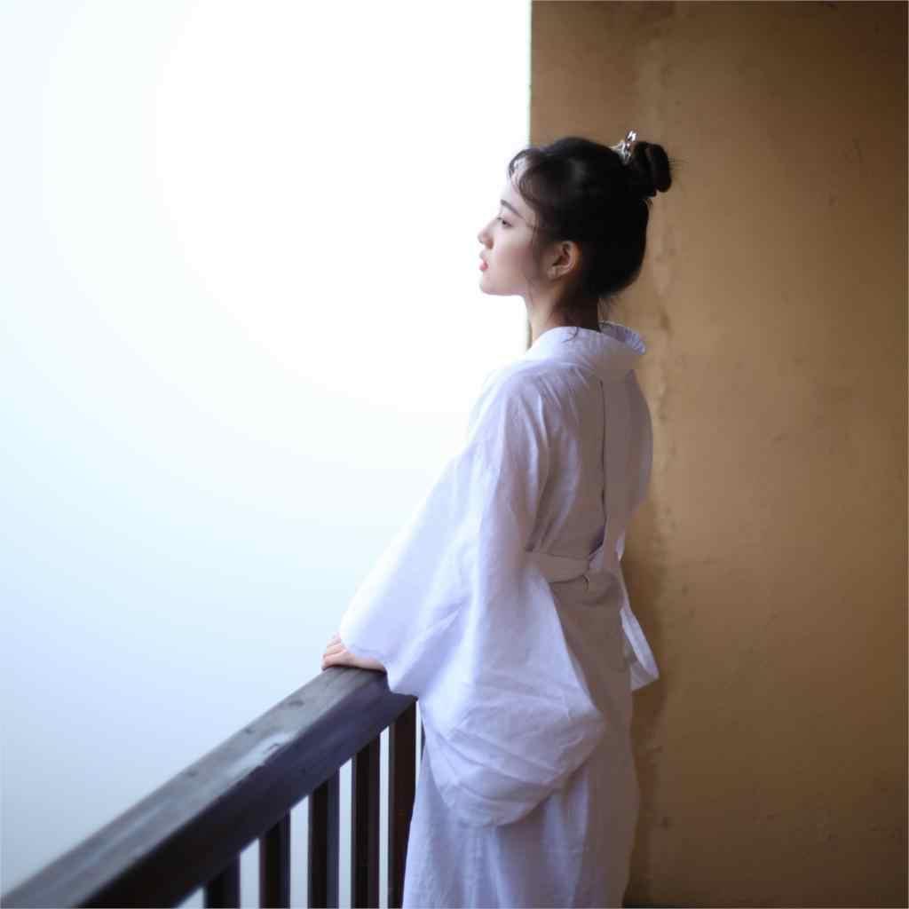 2020 Donna di Stile Kimono Giapponese yukata Solido Sciolto bianco interno Tendine compreso collare