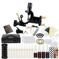 Beginner Tattoo Kit Rotary Tattoo Machine Gun Set 4Color Immortal Inks Power Supply Kit Body Art Tool Tattoo Set Permanent Makup