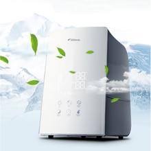 цена на Household Anion Air Humidifier Car Home Touch Control Air Purifier LCD Display humidificador Machine Oxygen Bar DEM-F748