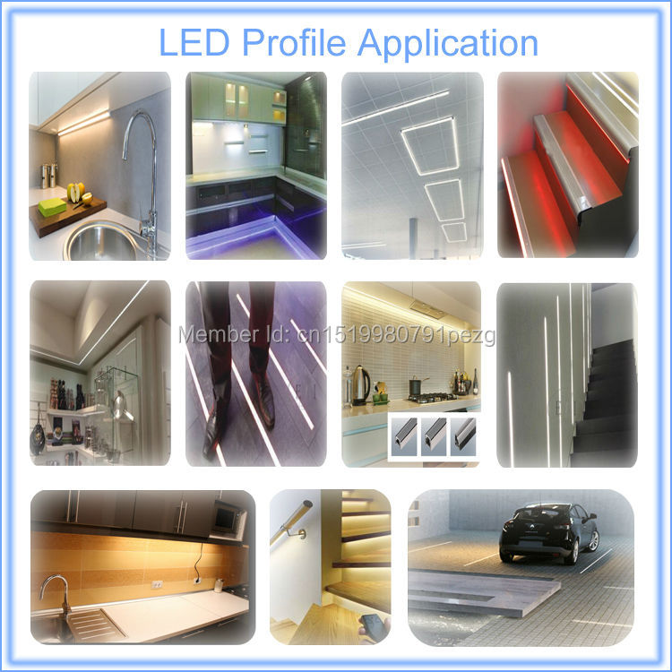 High Quality profile for led