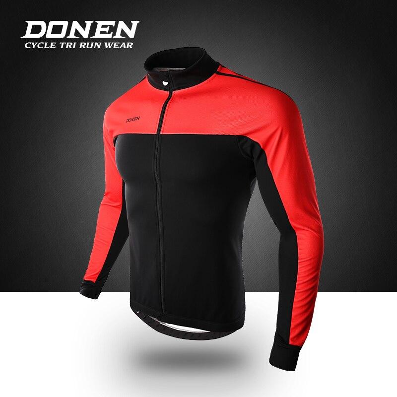 DONEN 2018 теплая куртка для велосипедного спорта зима теплая Велосипедный спорт костюмы ветрозащитный мягкий флис комплекс пальто MTB велосипе