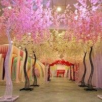 2018 Новое поступление свадебные реквизит дорога привел Моделирование цветок вишни с гладить Арка Рамка для вечерние центральные украшения