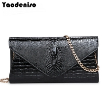 2017 New Luxury women leather day clutches bags handbags women famous brand alligator evening bags casual clutches wallets