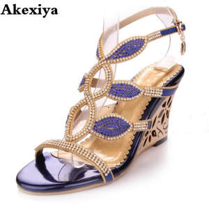 f4b056278919 Akexiya 2018 Summer Shoes for Ladies Sandal Woman