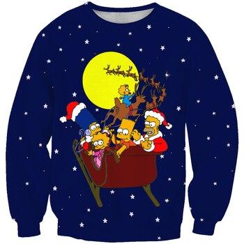 New arrival Unisex Sweatshirt The Simpson family
