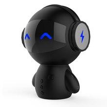 นวัตกรรมใหม่หุ่นยนต์มาร์ทBlueotothลำโพงกับBT CSR 3.0บวกเบสเพลงโทรแฮนด์ฟรีTF MP3 AUXและการทำงานของธนาคารอำนาจ.