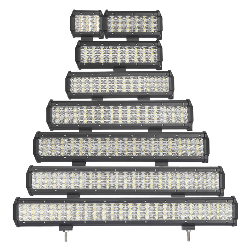 Z L OFFROAD LED WORK LIGHT BAR 12V 24V 4 23 INCH CAR SUV BOAT ATV