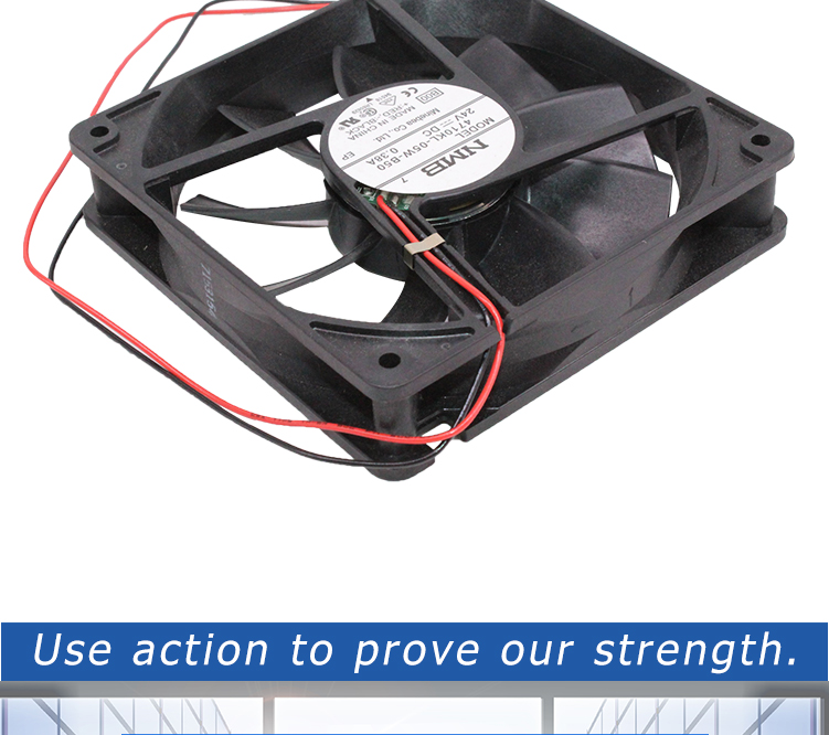 New and original 4710KL-05W-B50 12cm 125 DC 12V 0.38A Double ball bearing High-end inverter cooling fan