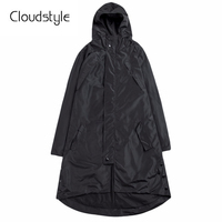 Cloudstyle 2018 Brand Male Overcoat Fashion Hooded Dust Coat Men New Water Protection Designed Smart Casual Slim Fit   Trench