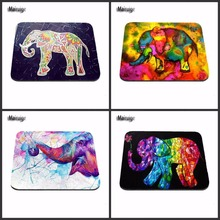 Top Selling Elephant Vintage Pattern Style Anti-slip Mousepad Computer Mouse Pad Mat for Optal Me Trackball Mouse As A Gift