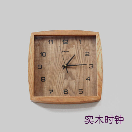 Little Clock Chinise wood carvings car ornaments art Decoration accessory  Home Furnishing Articles gift for birthday/Chrismas xinqite home furnishing ornaments product suspension globe round 3 inch 85mm blue english version of the spot