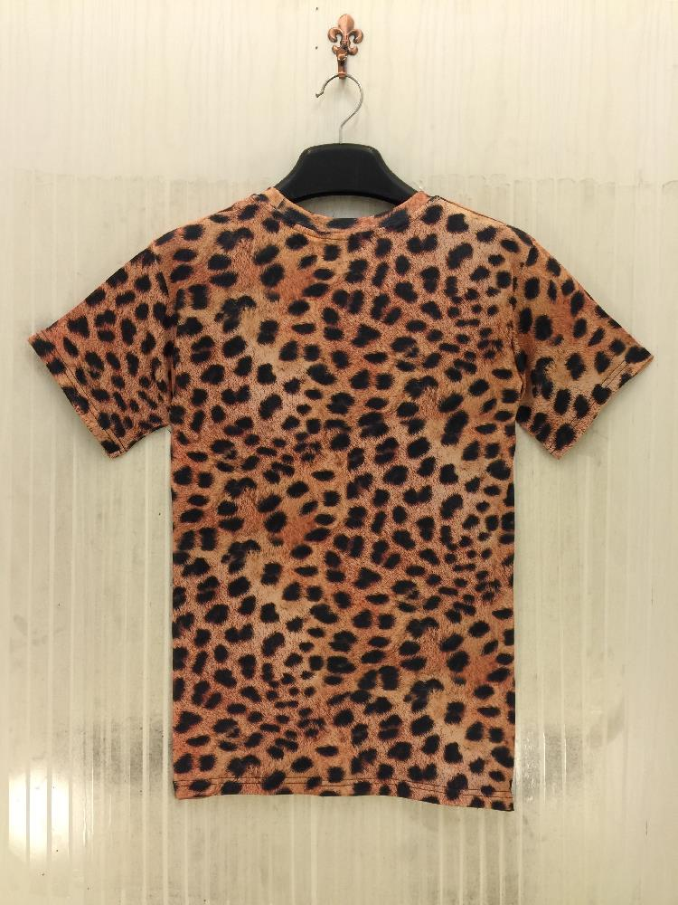 45738c68ac9 Summer 3d t shirt animal graphic tee shirt tiger leopard letters ...