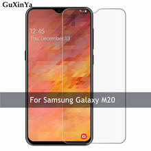2pcs Tempered Glass For Samsung Galaxy M20 Screen Protector 9H Front Anti-scratch Protective M205FD