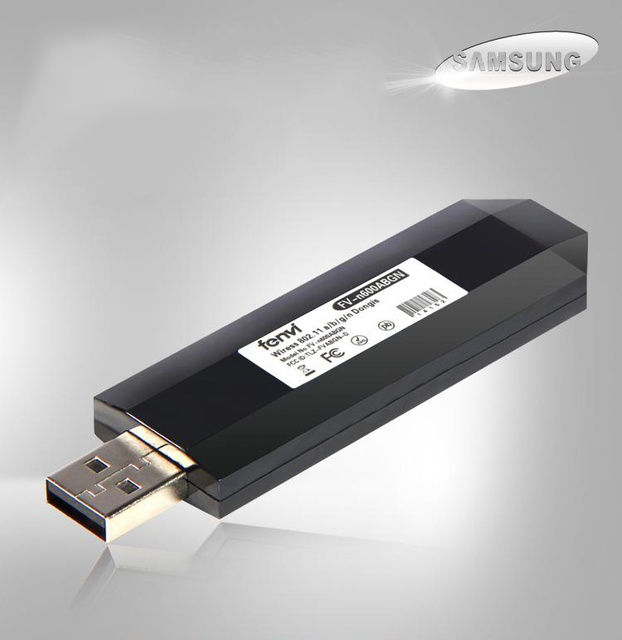 Wireless Adapter For Samsung Smart TV Computer USB WIFI Lan 80211a B G N Play And With Strong Signal