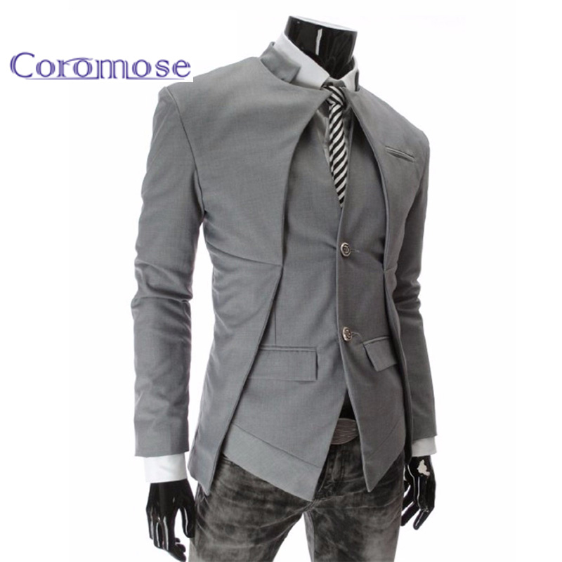 Coromose 2017 Brand Designer Fashion Mens Suit Jacket