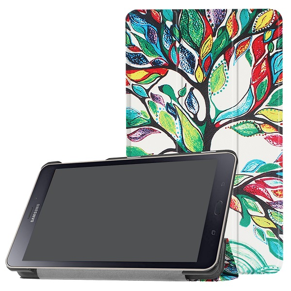 Ultra Slim Folding Flip Case For Samsung Galaxy Tab A2 S 8.0 2017 Protective Case Magnet Smart Cover For Samsung T380 T385
